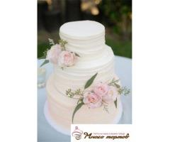 Торт на свадьбу, день рождения