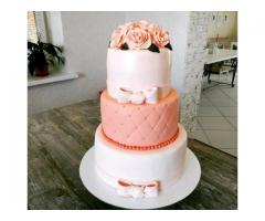 Свадебный торт на заказ, детские, 3dторты