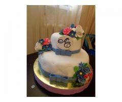 Свадебный детский торт капкейки пряники кенди бар