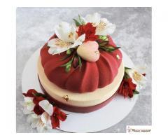 Муссовые торты и пирожные (на заказ и в наличии)