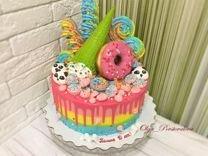 Торты, капкейки, печенье, сладкий стол