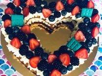 Торт Сердце на заказ