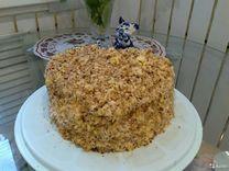 Торт бисквит домашний 2 кг с натуральным кремом ис
