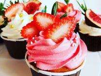 Капкейки, десерты, торты на заказ)