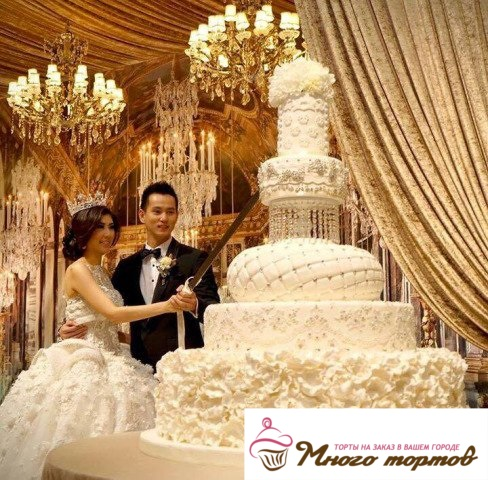 Заказ свадебного торта/Любой сложности