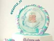 Заказать торт в Самаре. Кондитер Самара. Вафли