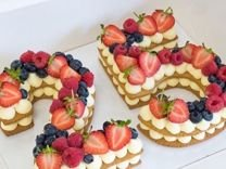 Торт цифра на заказ и другие сладости