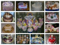 Торты на заказ (кап-кейки,пряники,безе,кенди-бар)