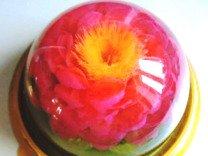 Цветы 3Д в торте Желе на заказ