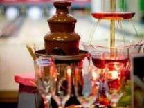 Прокат фонтанов. Шоколадный и фонтан для напитков