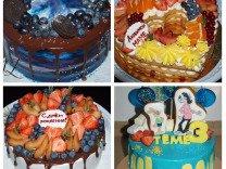 Торты, выпечка и полуфабрикаты