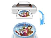 Печать на съедобной бумаге