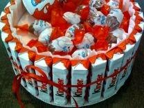Букеты и торты из конфет