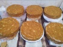 Домашние медовые торты на заказ