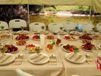 Кейтеринг (еда, повара,официанты, шатры, посуда)