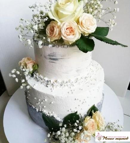Торты детские, свадебные