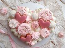 Торт сердце к 14 февраля