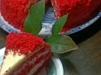 Торт Красный бархат на заказ