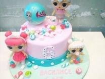 Фигурки из мастики на торт