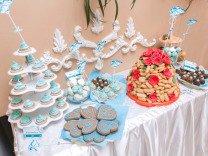 Сладкий стол на свадьбу, торты на заказ