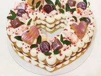 Тортик на заказ. Торт сердце