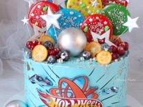 Заказ тортиков с крутым дизайном