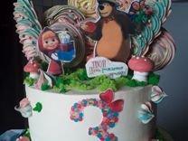 Торты, меренги, кейк попсы и капкейки
