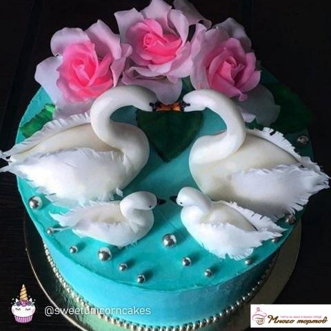 Свадебный торт на заказ недорого