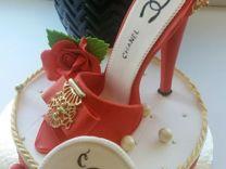 Сахарные фигурки на торт