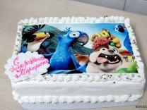 Печать съедобных фото на торт
