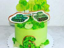 Торт на заказ, пряники, фигурки из мастики
