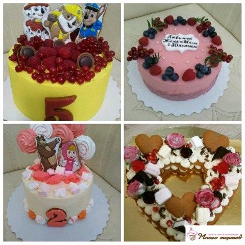 Вкусные домашние тортики на заказ