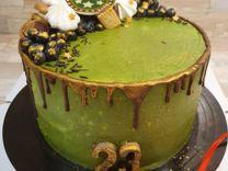 Торт капкейки макарон праздничные наборы