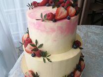 Торты на заказ, капкейки на заказ, свадебный торт