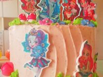Детский торт в стиле Enchantimals на заказ